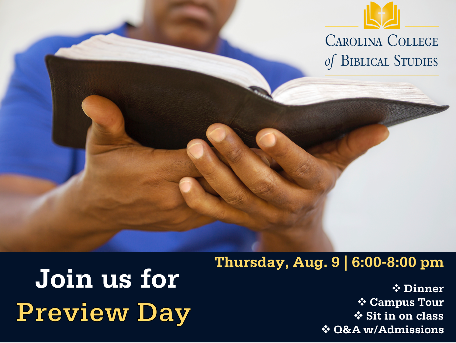 Preview Day Aug 9