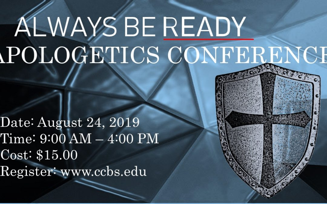 Apologetics Conference at Carolina College of Biblical Studies