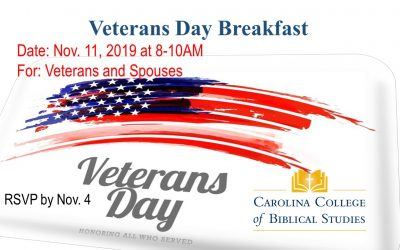 CCBS Veterans Day Breakfast!