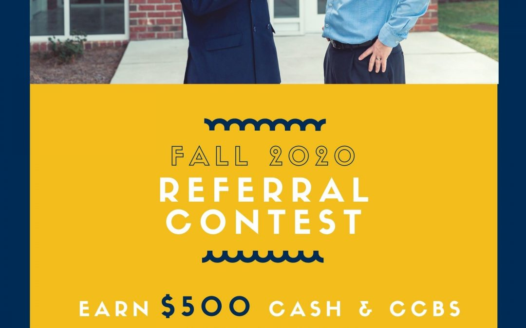 The Carolina College of Biblical Studies Fall Referral Contest