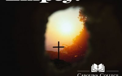 An Easter Message from Dr. Korver, Empty!