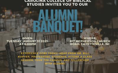Carolina College of Biblical Studies Alumni Banquet